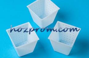 Профессиональная сырная форма Пирамидка для получения мягких сыров